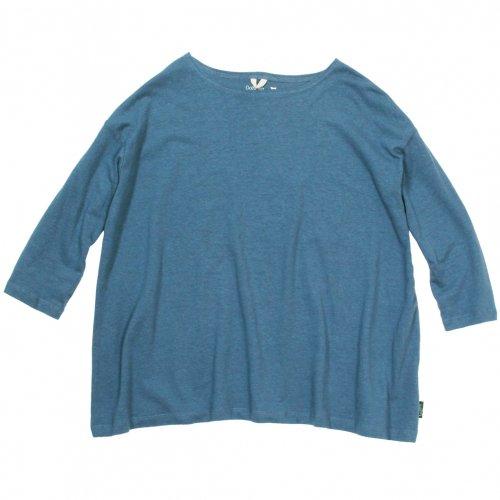 GOHEMP ( ゴーヘンプ ) LADY'S SUNNY WIDE TEE ( NIAGARA BLUE ) GHC4287RG