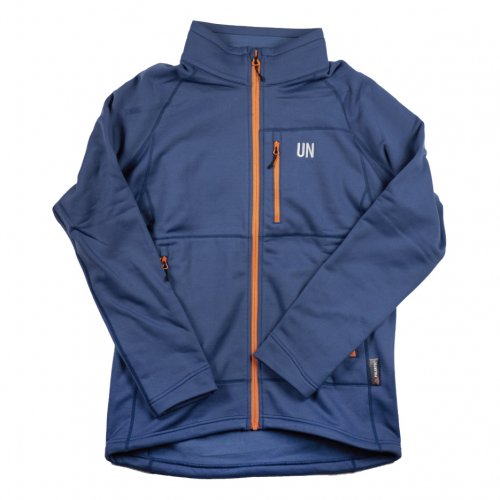 UN ( ユーエヌ ) NEW UN3000 FREECE JACKET ( NAVY )