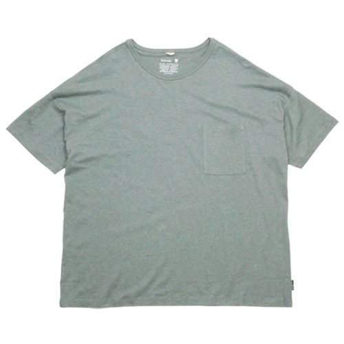 GOHEMP (ゴーヘンプ) BASIC MEN'S S/SL TEE GHC4200RG17 / HEATHER-GHC4200TP5 / INDIGO-GHC4200ID3