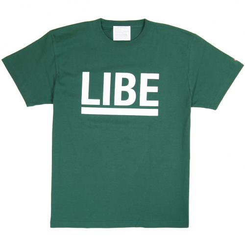 LIBE ( ライブ ) Tシャツ BIG LOGO TEE (IVY GREEN) 10A02
