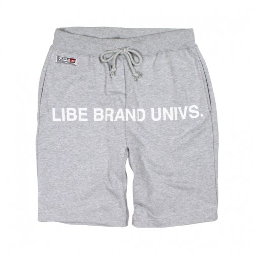 LIBE ( ライブ ) SWEAT HALF PANTS-15 (GREY) 15S08