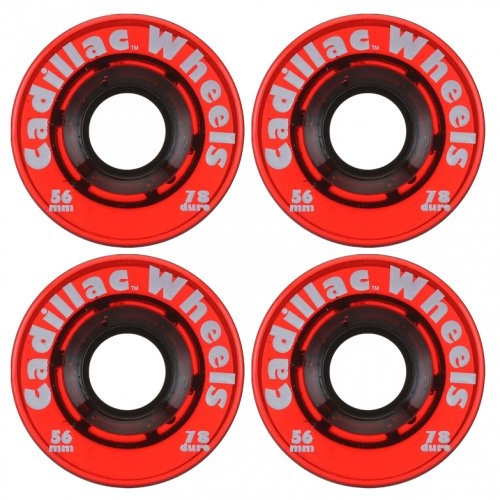 CADILLAC WHEELS ( キャデラックウィール ) ソフトウィール  CADILLAC ORIGINAL 56mm 78a (RED)