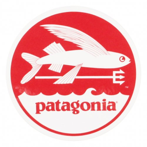 PATAGONIA ( パタゴニア ) ステッカー TRIDENT FISH STICKER