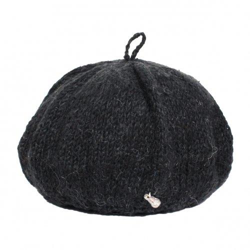 GOHEMP (ゴーヘンプ) FRENCH BERET (BLACK) GHG0416HPH