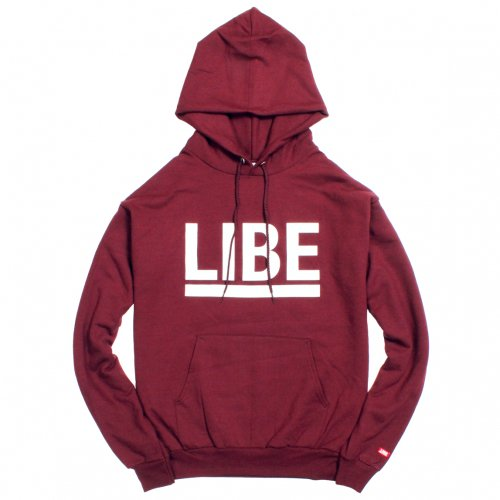 LIBE ( ライブ ) BIG LOGO PARKA ( WINE ) 11A01