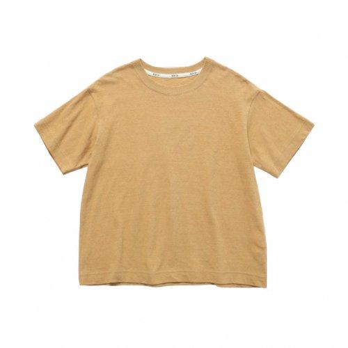 MOUN TEN. ( マウンテン ) Tシャツ REFLECTOR LOGO T ( BEIGE ) MT201010