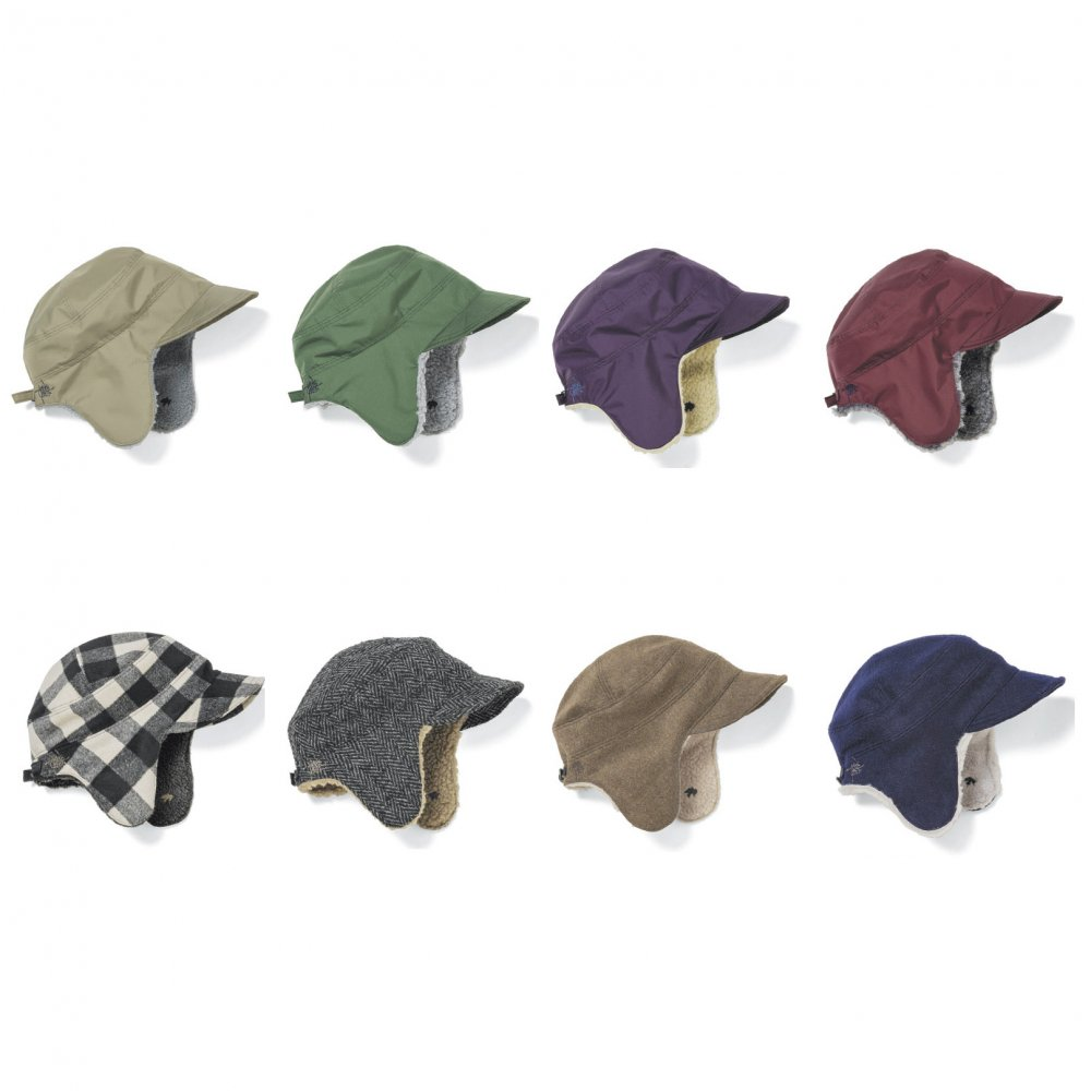 GREENCLOTHING ( グリーンクロージング ) 19-20 BOA CAP ( HERRINGBONE MIX )