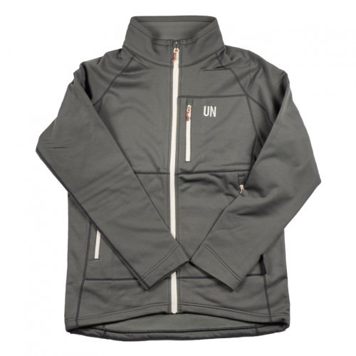 UN ( ユーエヌ ) NEW UN3000 FREECE JACKET ( CHARCOAL )