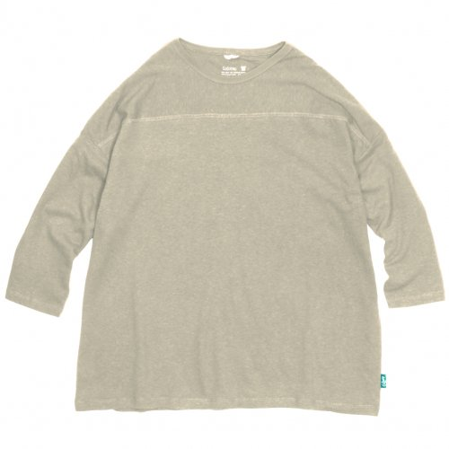 GOHEMP ( ゴーヘンプ ) フットボールTシャツ BASIC MEN'S FOOTBALL TEE ( COFFEE BROWN ) GHC4202RG18