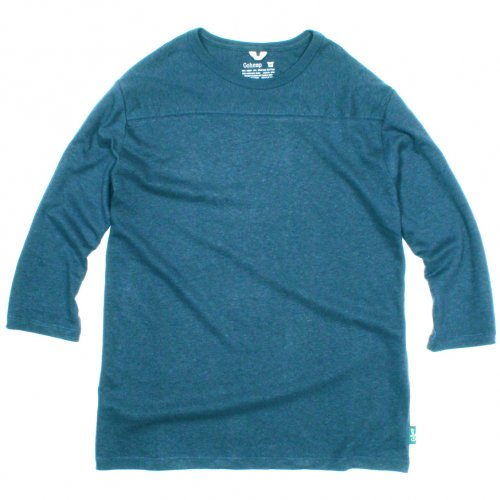 GOHEMP ( ゴーヘンプ ) フットボールTシャツ BASIC LADY'S FOOTBALL TEE ( NIAGARA BLUE ) GHC4202RG