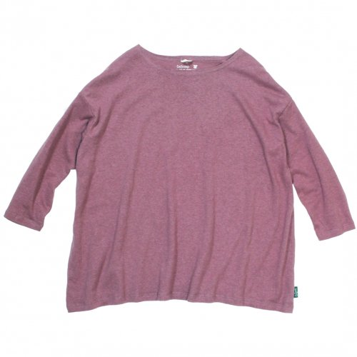 GOHEMP (ゴーヘンプ) BASIC LADY'S FOOTBALL TEE (COFFEE BROWN) GHC4202RG17