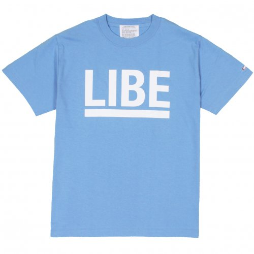 LIBE ( ライブ ) Tシャツ BIG LOGO TEE (SAX) 10A02