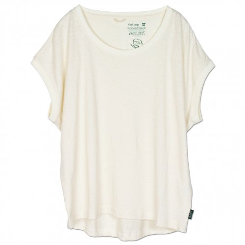 GOHEMP ( ゴーヘンプ ) サニーラウンドTシャツ BASIC LADY'S SUNNY ROUND TEE ( NATURAL ) GHC4252RG