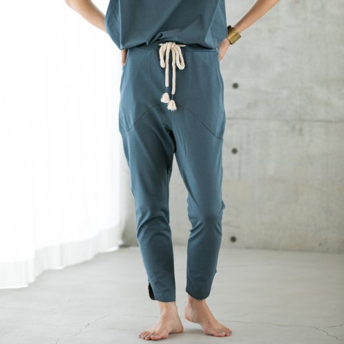 KiiRA ( キーラ ) パンツ 2021S/S ORGANIC COTTON FLATSEAM PANTS ki-3816