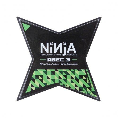 NINJA (ニンジャ) ベアリング ABEC3 スタータイプ (グリース・8個入り)