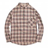 RULEZPEEPS (ルールズピープス) COTTON CHECK GOODAY SHIRT (BEIGE) 16RZ0120
