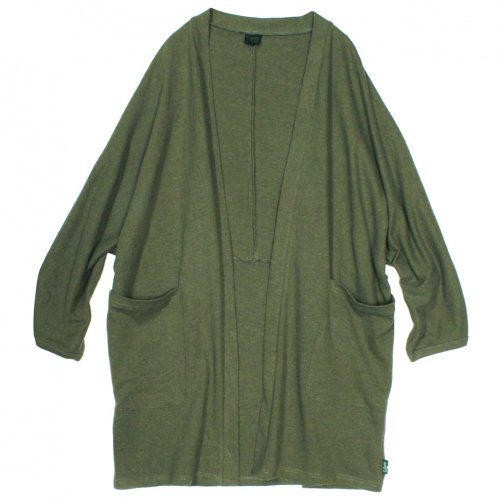 GOHEMP ( ゴーヘンプ ) カーディガン LADY'S HAORIN JACKET ( HERB GREEN ) GHC4444HPJ18-2