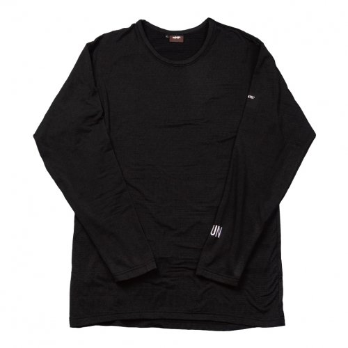 UN ( ユーエヌ ) NEW UN1000 CREW NECK UNDERWEAR ( BLACK )