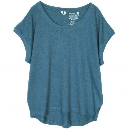 GOHEMP ( ゴーヘンプ ) サニーラウンドTシャツ BASIC LADY'S SUNNY ROUND TEE ( NIAGARA BLUE ) GHC4252RG