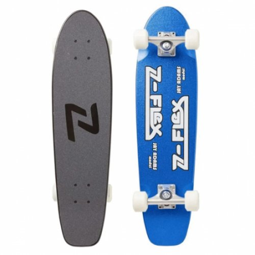 Z-FLEX ( ジーフレックス ) クルーザースケートボード 29inch JAY ADAMS COMPLETE (METAL BLUE)