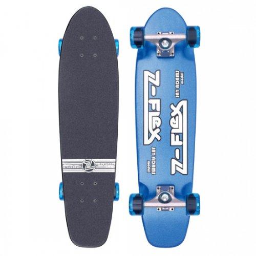 Z-FLEX ( ジーフレックス ) クルーザースケートボード JAY ADAMS SHADOW (METAL BLUE)