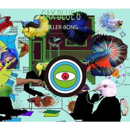 BLACK SMOKER RECORDS「SAX BLUE 6」/KILLER-BONG (MIX CD)