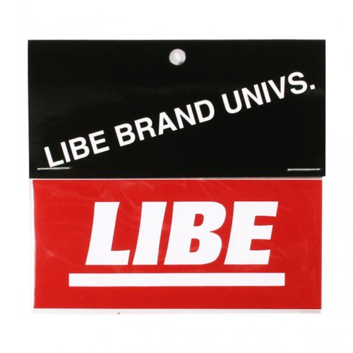 LIBE ( ライブ ) ステッカー OG BOX LOGO STICKER 19SP02