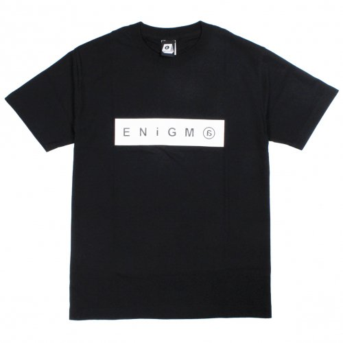 ENiGMa (エニグマ) BOX LOGO TEE (BLACK)