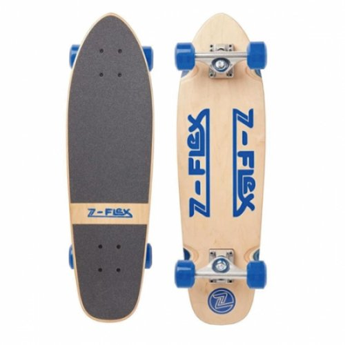 Z-FLEX ( ジーフレックス ) クルーザースケートボード 27inch RETRO CLASSIC  (BLUE)