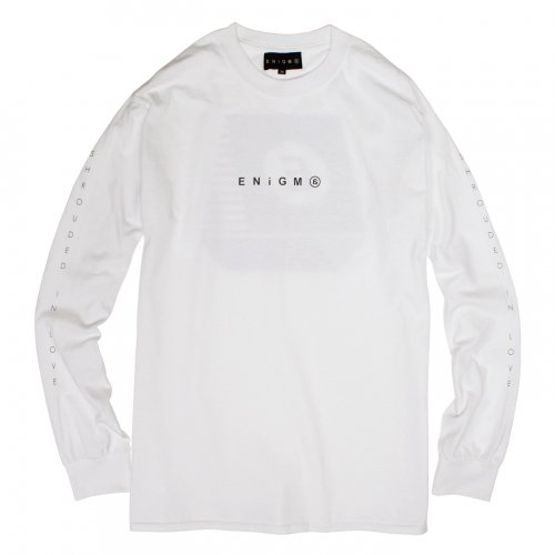 ENiGMa (エニグマ) LONG SLEEVE (WHITE)