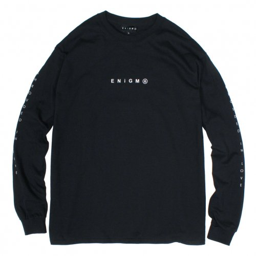 ENiGMa (エニグマ) LONG SLEEVE (BLACK)