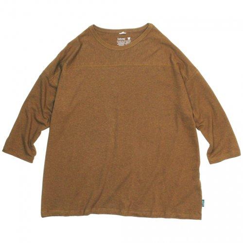 GOHEMP ( ゴーヘンプ ) ワイドフットボールTシャツ BASIC LADY'S WIDE FOOTBALL TEE ( FIELD WOOD ) GHC4298RG