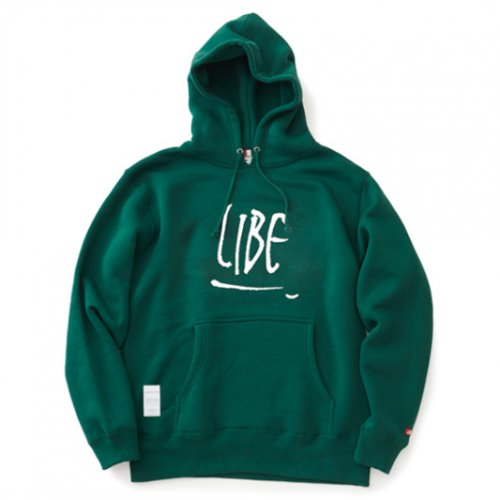 LIBE ( ライブ ) パーカー ROUGH LOGO PARKA 18A14