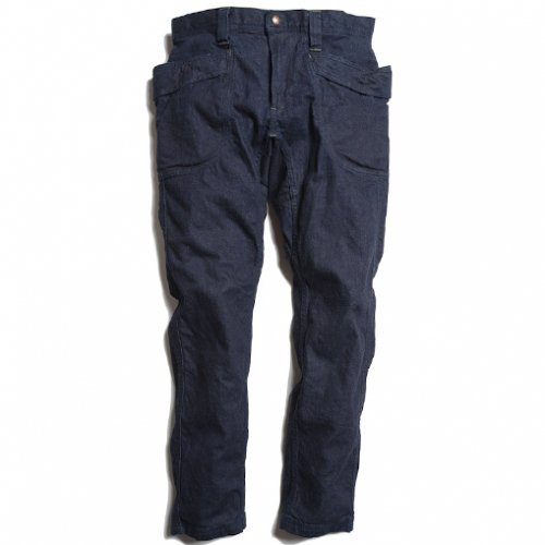 GOHEMP ( ゴーヘンプ ) MEN'S VENDOR TAPERED SLIM PANTS (ONE WASH) GHP1101DHO