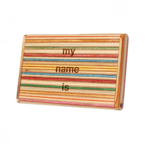 CORE (コア) CARD CASE -MY NAME IS- (カラー1)