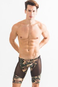 N2N Bodywear Camo Sheer Biker サイクルパンツ R81*<img class='new_mark_img2' src='//img.shop-pro.jp/img/new/icons20.gif' style='border:none;display:inline;margin:0px;padding:0px;width:auto;' />