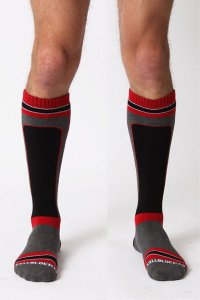 CellBlock13 X-Treme Hybrid Knee High Socks ソックス A034 (宅配商品)*<img class='new_mark_img2' src='https://img.shop-pro.jp/img/new/icons20.gif' style='border:none;display:inline;margin:0px;padding:0px;width:auto;' />