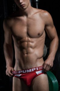 PUMP Ribbed Brief ブリーフ 12042/12043/12044