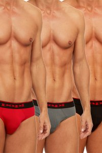 Papi Cotton Stretch Brief ブリーフ 3-Pack 980403-950 Papi-310 (宅配商品)<img class='new_mark_img2' src='https://img.shop-pro.jp/img/new/icons13.gif' style='border:none;display:inline;margin:0px;padding:0px;width:auto;' />