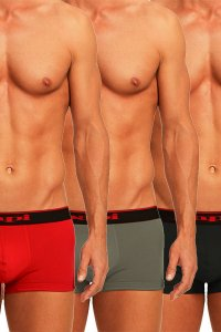 Papi Cotton Stretch Boxer ボクサーパンツ 3-Pack 980501-950 Papi-312 (宅配商品)