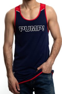 PUMP Academy Tank タンクトップ 14015 (宅配商品)<img class='new_mark_img2' src='https://img.shop-pro.jp/img/new/icons13.gif' style='border:none;display:inline;margin:0px;padding:0px;width:auto;' />