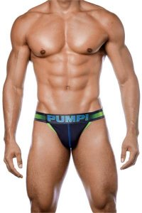 PUMP PLAY Green Sidecut Brief ブリーフ 12054<img class='new_mark_img2' src='https://img.shop-pro.jp/img/new/icons13.gif' style='border:none;display:inline;margin:0px;padding:0px;width:auto;' />