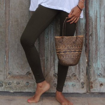 Leggings Long khaki