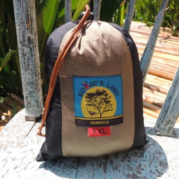 Nomad's land Hammock black x brown size XXL (color code : A)