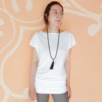 【New】 Tunic Surya white