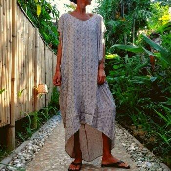Fenua Poncho Dress (tsugumi)