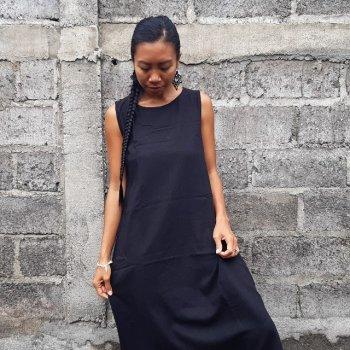 Dress Lia with Mask (black)
