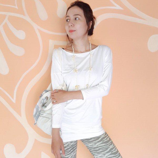 Surya Tunic Long white