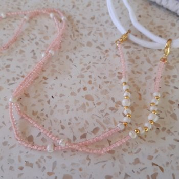 <img class='new_mark_img1' src='https://img.shop-pro.jp/img/new/icons3.gif' style='border:none;display:inline;margin:0px;padding:0px;width:auto;' />Beads Mask Strap pink