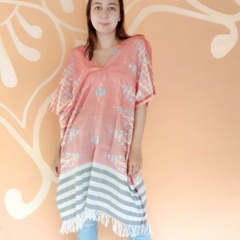 <img class='new_mark_img1' src='https://img.shop-pro.jp/img/new/icons1.gif' style='border:none;display:inline;margin:0px;padding:0px;width:auto;' />BALI SARONG TUNIC / RED x BLUE